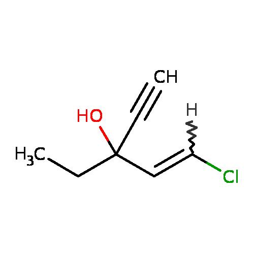 T3DB: Ethchlorvynol