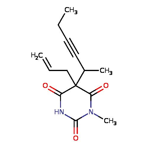 T3DB: Methohexital