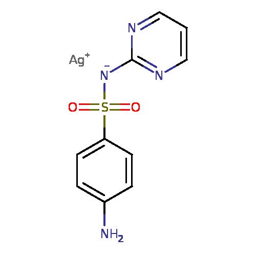 T3DB: Silver sulfadiazine